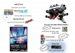 HCDH Programme de stage